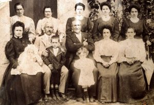 anni 30 gruppo famiglia