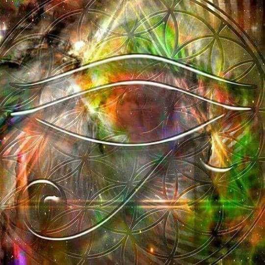 occhio alchimia fiore della vita | Roberta Pagliani - Yoga Consapevolezza e Gioia